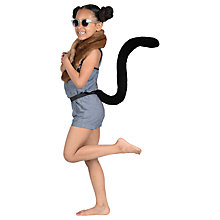 Buy Telltails Black Cat Fancy Dress Tail Online at johnlewis.com