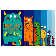 Buy Smaller & Smaller Monsters Children's Book Online at johnlewis.com