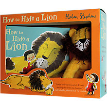 Buy How To Hide A Lion Children's Book with Plush Soft Toy Gift Set Online at johnlewis.com