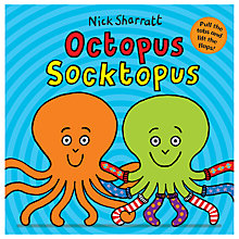 Buy Octopus Soctopus Book by Nick Sharratt Online at johnlewis.com