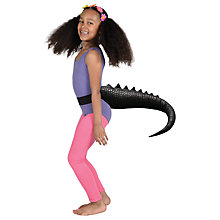 Buy Telltails Black Dinosaur Fancy Dress Tail Online at johnlewis.com