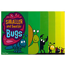 Buy Smaller & Smaller Bugs Children's Book Online at johnlewis.com