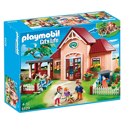 Click here for Playmobil City Life Vet Clinic