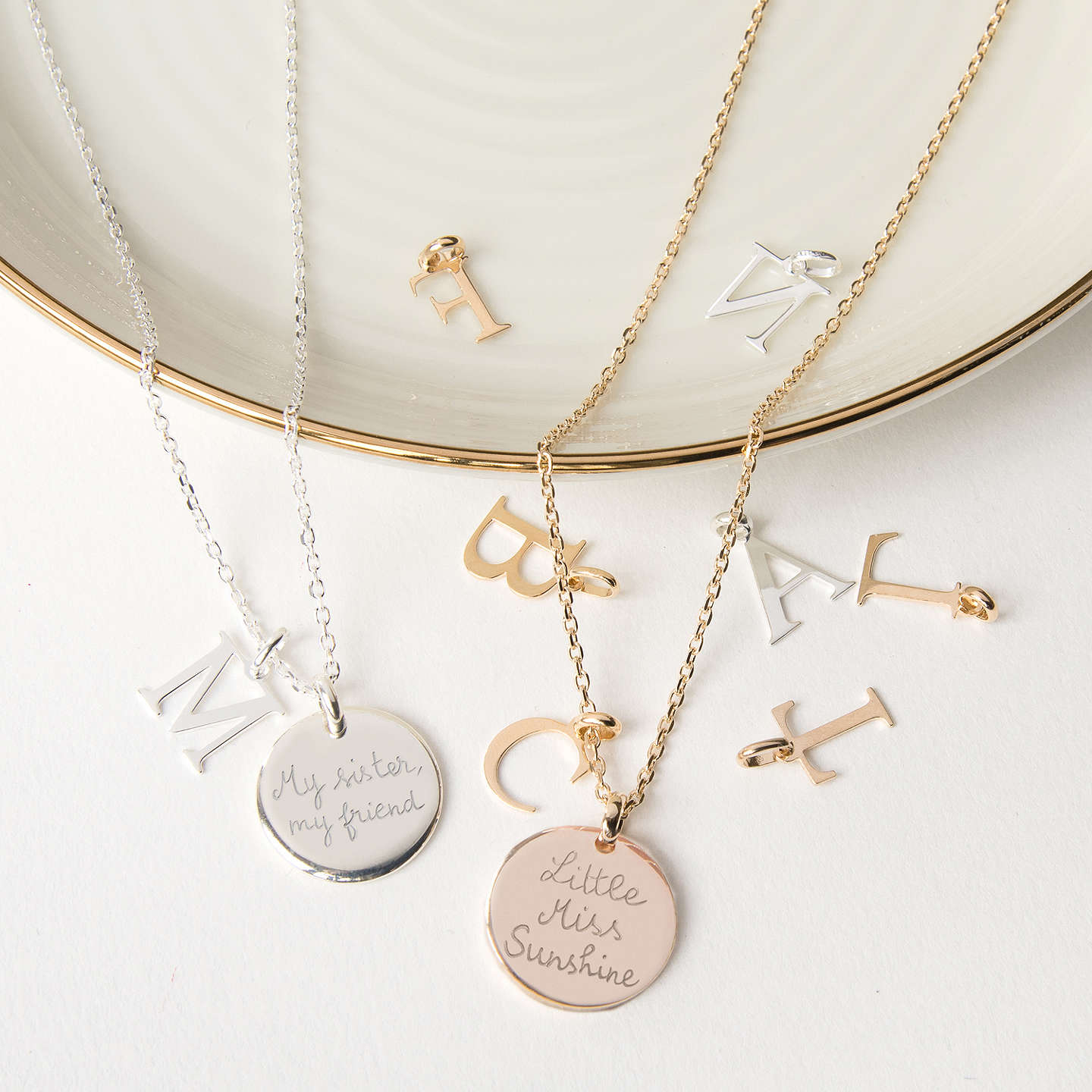 made with girl by little mygirl personalized disc my gold necklace products mary