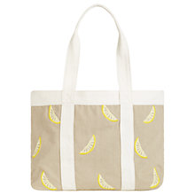 Buy Hobbs Sorrento Tote Bag, Natural Yellow Online at johnlewis.com