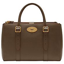 Buy Mulberry Bayswater Leather Large Double Zip Tote Bag Online at johnlewis.com