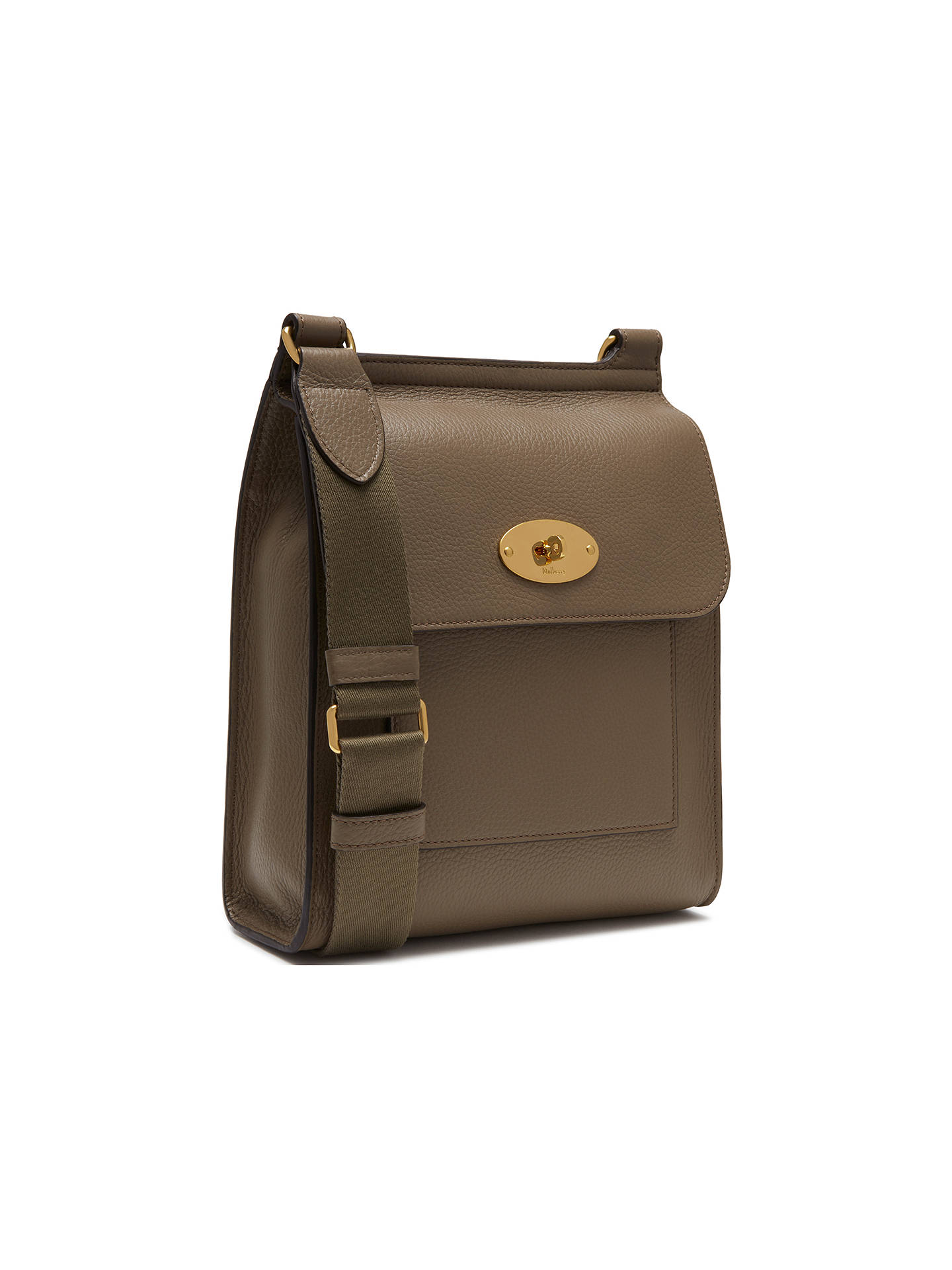 77252eeb1d ... authentic buymulberry new antony small classic grain leather satchel  clay online at johnlewis 44857 45785