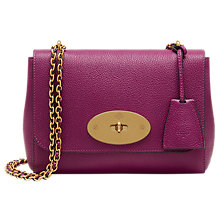 Buy Mulberry Lily Small Classic Grain Leather Shoulder Bag Online at johnlewis.com