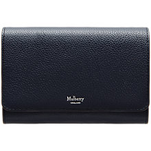 Buy Mulberry Continental Medium Leather French Wallet Online at johnlewis.com