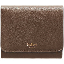 Buy Mulberry Leather Small Continental French Purse Online at johnlewis.com
