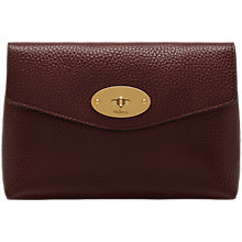 Buy Mulberry Darley Veg Tan Leather Small Cosmetic Pouch Online at johnlewis.com