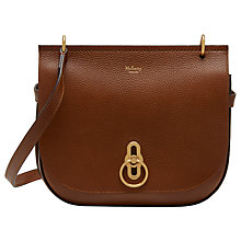 Buy Mulberry Amberley Small Classic Grain Leather Satchel Online at johnlewis.com