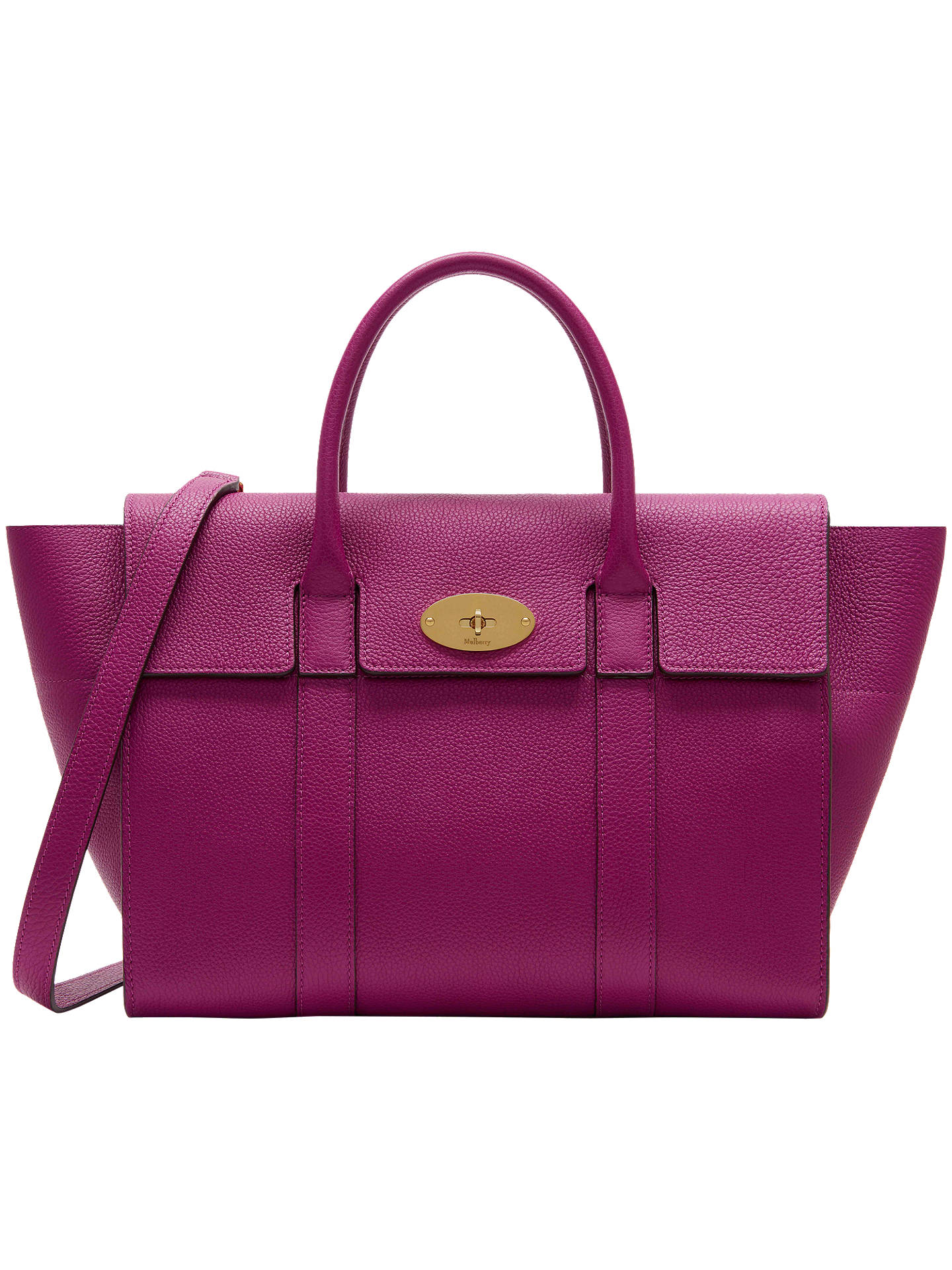 cc6c2a02d7 Mulberry Bayswater Strap Small Classic Grain Bag at John Lewis ...