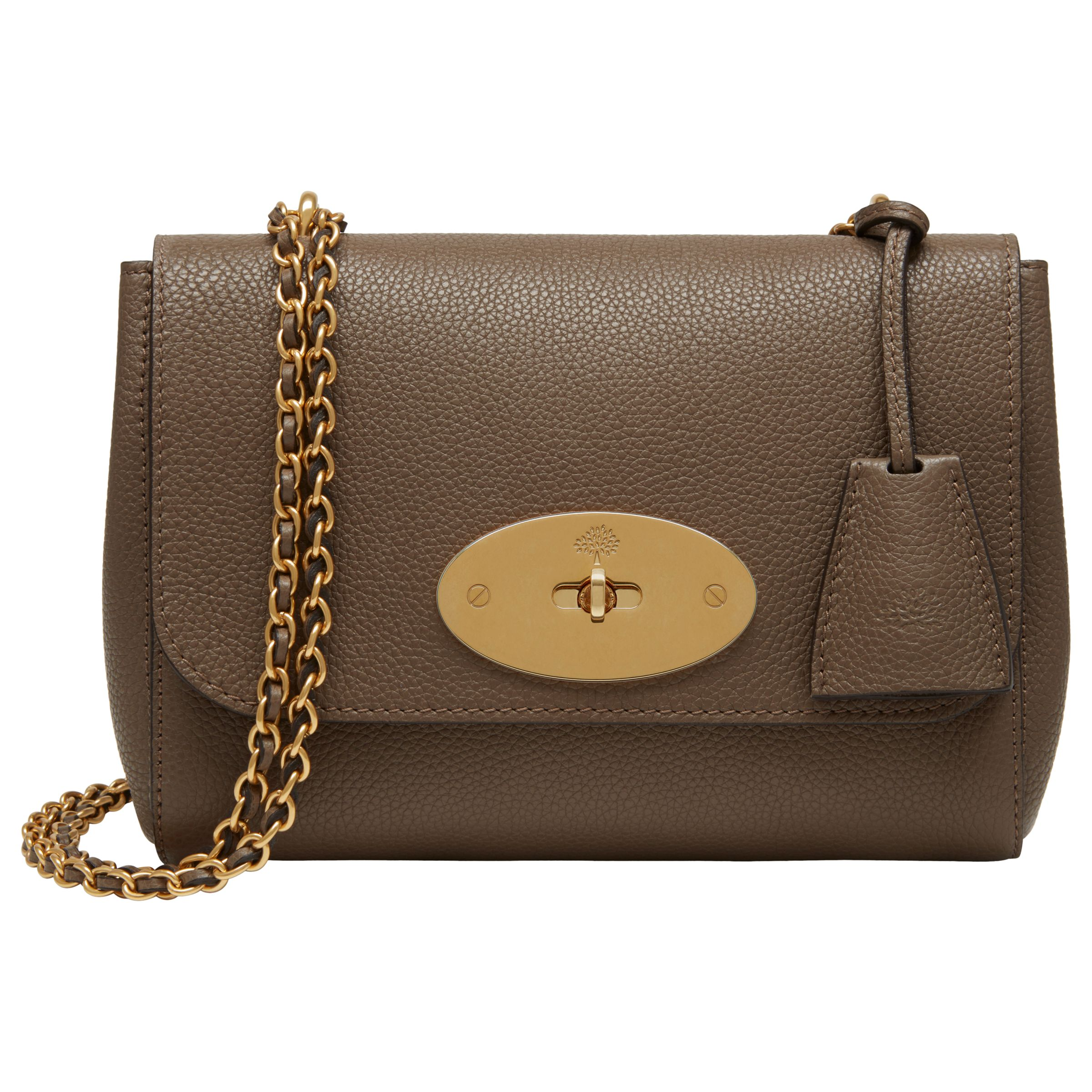 1bda8d8981be Mulberry Lily Small Classic Grain Leather Shoulder Bag at John Lewis    Partners