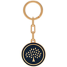 Buy Mulberry Round Tree Keyring Online at johnlewis.com
