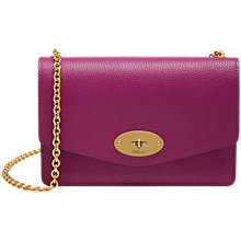 Buy Mulberry Darley Small Classic Grain Cross Body Bag Online at johnlewis.com
