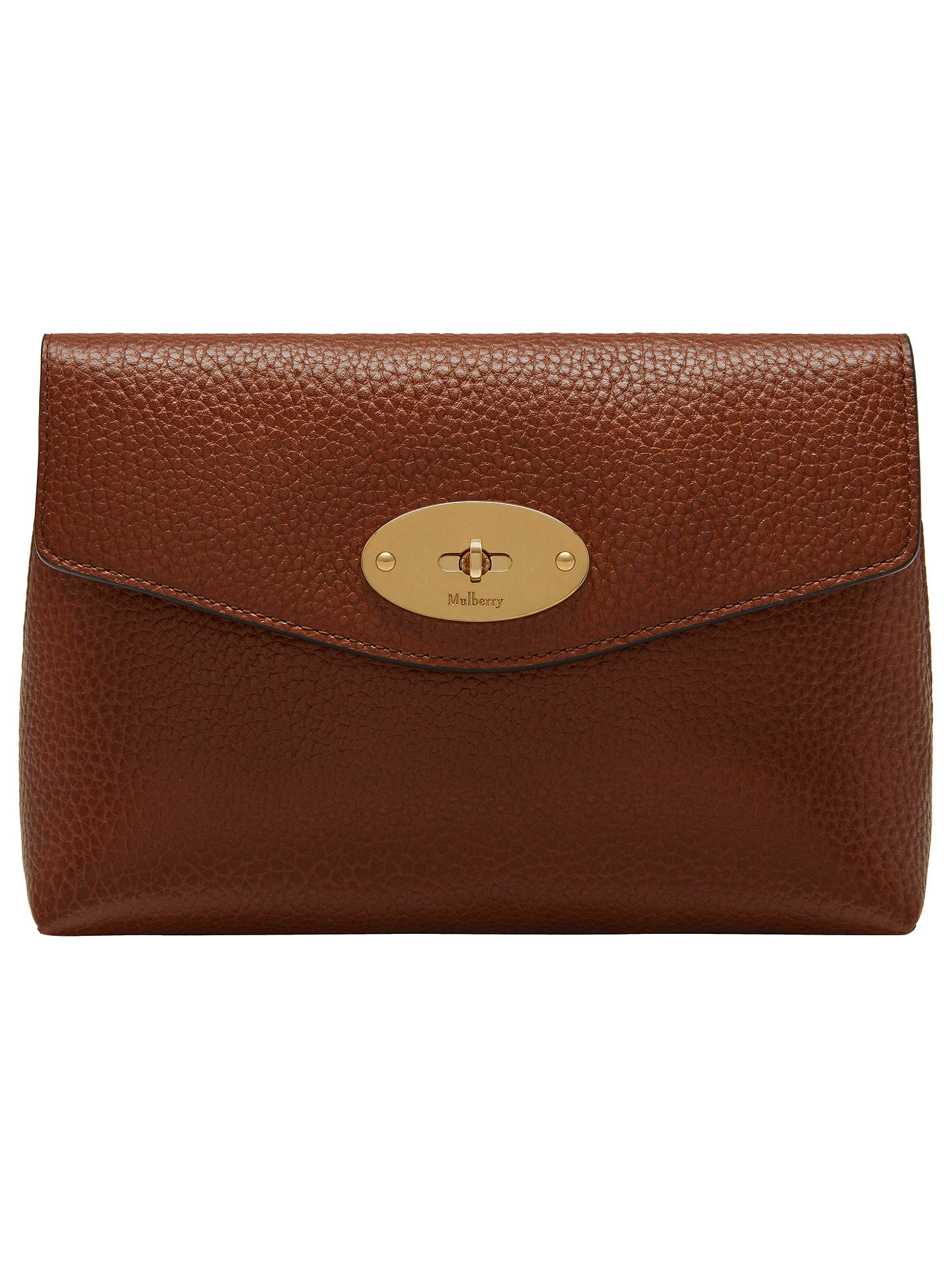 bdd6230f5457 ... sweden buymulberry darley veg tan leather small cosmetic pouch oak  online at johnlewis b8ef6 f05a2