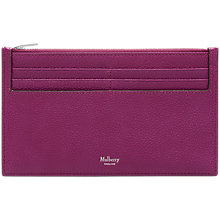 Buy Mulberry Leather Travel Card Holder Online at johnlewis.com
