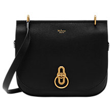Buy Mulberry Amberley Classic Grain Leather Satchel Online at johnlewis.com