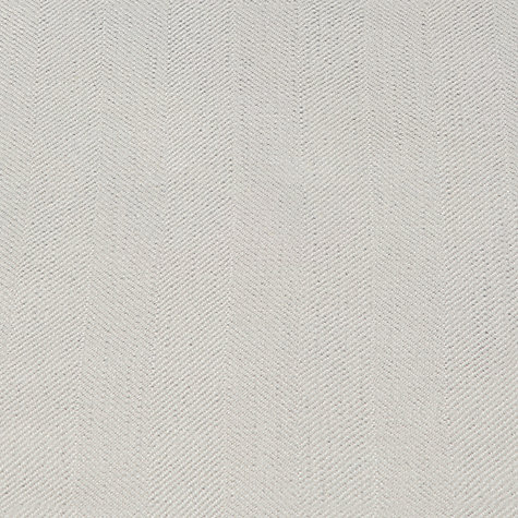 Buy John Lewis Bracken Herringbone Steel Fabric, Price Band D Online at johnlewis.com