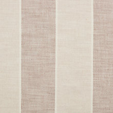 Buy John Lewis Brampton Jumbo Stripe Natural Loose Cover Fabric, Price Band D Online at johnlewis.com