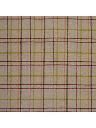 Moon Wool Check Natural Twill Fabric, Price Band E