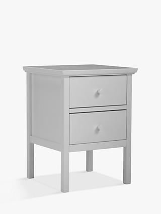 John Lewis Partners Wilton 2 Drawer Bedside Cabinet