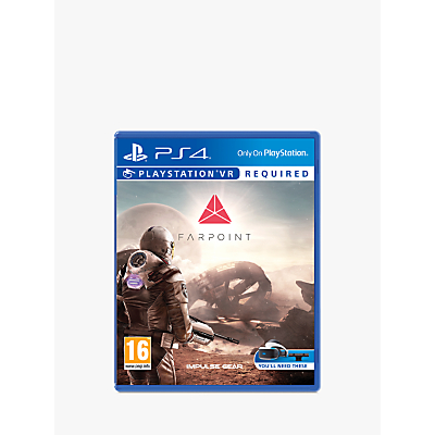 Image of Farpoint PS VR Game for PS4
