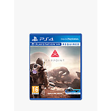 Buy Farpoint PS VR Game for PS4 Online at johnlewis.com