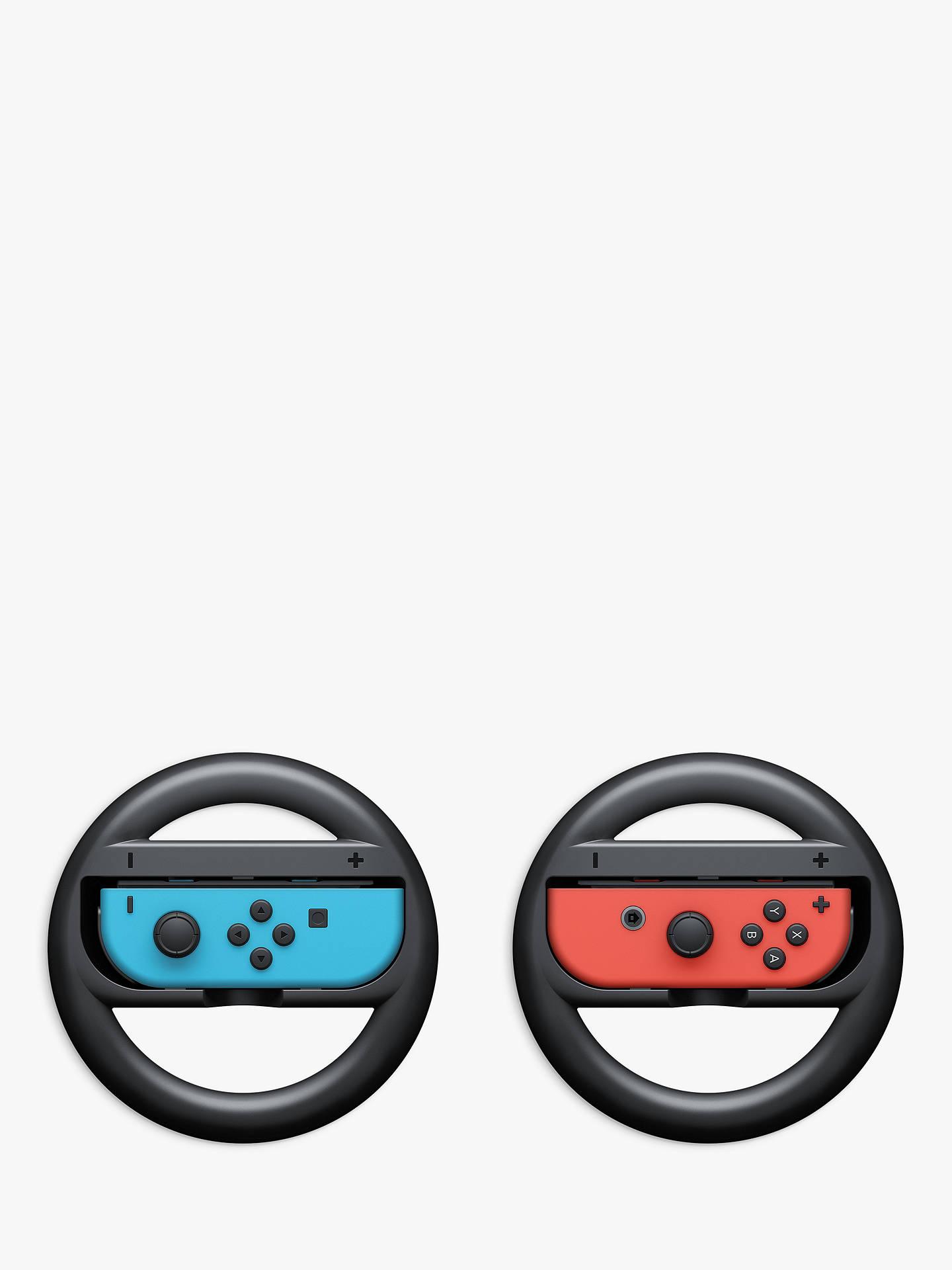Nintendo Switch Joy Con Wheel Pair by Nintendo