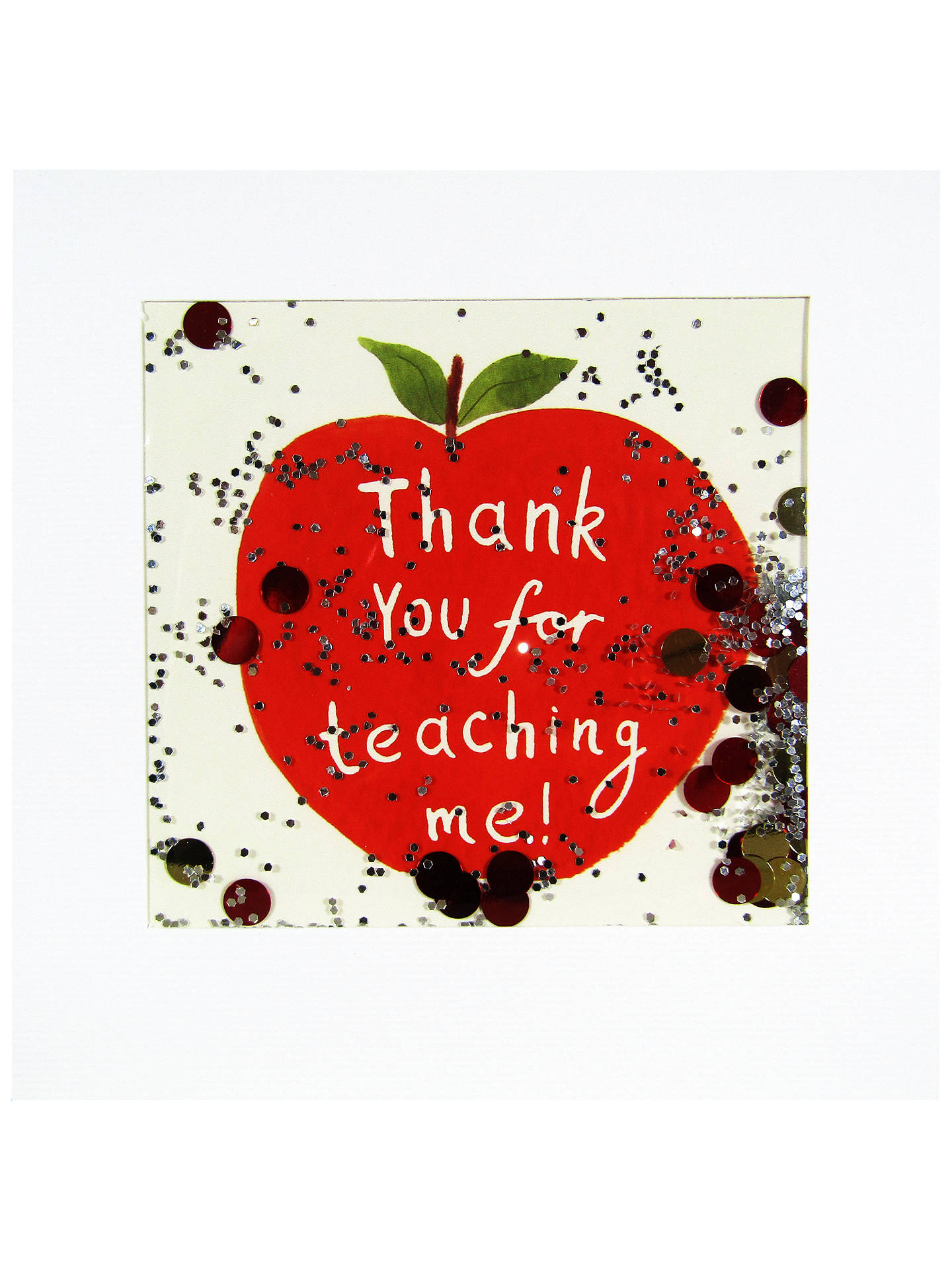James Ellis Stevens Thank You Teacher Greeting Card At John Lewis