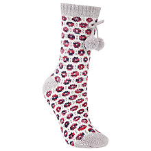 Buy John Lewis Circle Knit Patterned Novelty Ankle Socks, Multi Online at johnlewis.com