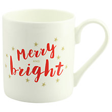 Buy McLaggan Smith Merry and Bright Mug, 300ml Online at johnlewis.com