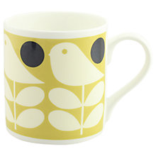 Buy Orla Kiely Early Bird Mug, 300ml Online at johnlewis.com
