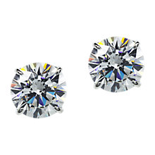 Buy CARAT* London 9ct Gold Round Stud Earrings Online at johnlewis.com