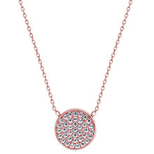 Buy CARAT* London Pave Round Pendant Necklace Online at johnlewis.com