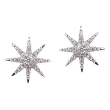 Buy CARAT* London Vega Stella Stud  Earrings, Silver Online at johnlewis.com