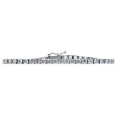 CARAT* London Brilliant Tennis Bracelet, Silver