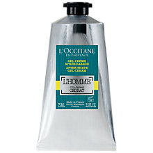 Buy L'Occitane L'Homme Cologne Cedrat After Shave Gel Cream, 75ml Online at johnlewis.com
