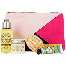 Buy L'Occitane Almond Bath & Body Discovery Collection Online at johnlewis.com