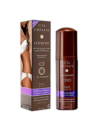 Vita Liberata Rapid Self Tan Mousse, 100ml