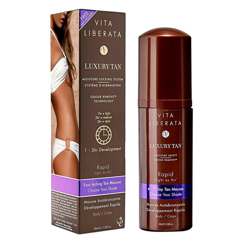 Vita Liberata Vita Liberata Rapid Self Tan Mousse, 100ml
