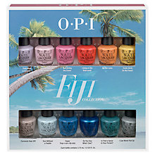 Buy OPI Fiji Collection 12 Pack Mini Nail Lacquer Set Online at johnlewis.com