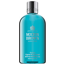 Buy Molton Brown Coastal Cypress & Sea Fennel Bath & Shower Gel, 300ml Online at johnlewis.com