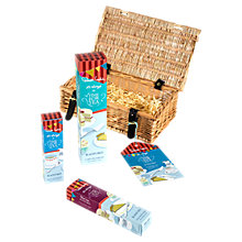 Buy Robert Welch Radford 'Time For Tea' Hamper, Silver/Wood Online at johnlewis.com