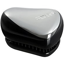 Buy Tangle Teezer Compact Styler, Silver Chrome Online at johnlewis.com