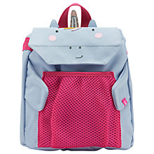 Buy Little Joule Children's Unicorn Rucksack, Lilac/Red Online at johnlewis.com