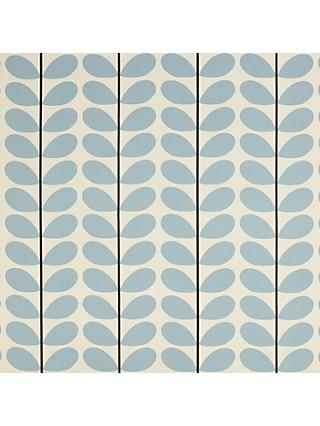 Orla Kiely Two Stem Curtain Blue