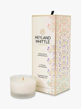 Heyland & Whittle 3 Votive Scented Candles Gift Set