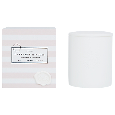 Cabbages & Roses Hyacinth & Gardenia Candle
